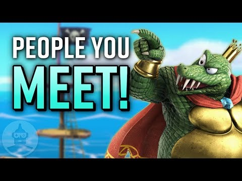 8 Players You Meet In Super Smash Bros Ultimate! | The Leaderboard thumbnail