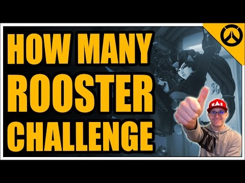 CHALLENGE! How Many Roosters Can I Collect As Widowmaker?
