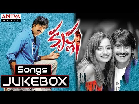 Krishna Telugu Movie || Full Songs Jukebox || Ravi Teja, Trisha
