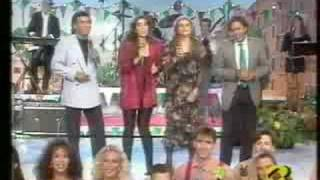 Video Al Bano, Romina, Franco, Taryn  - Taca Taca Banda download MP3, 3GP, MP4, WEBM, AVI, FLV Desember 2017