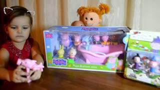 Аеліта відкриває дитячий набір іграшок Свинка Пеппа та друзі, а також набір Бенна і Холлі!