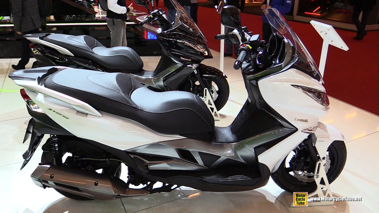 2016 Kawasaki J125 Abs Scooter Walkaround 2015 Salon De La Moto