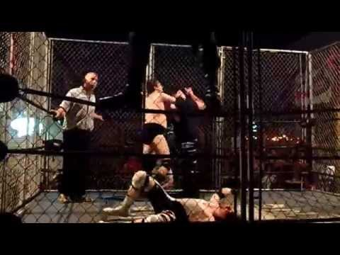 Red White & Bruised Cage Match 2012