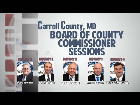 Board of Carroll County Commissioners Open Session Morning of February 9, 2017