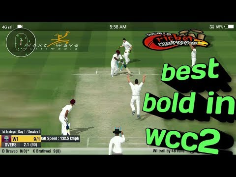 Best bold in wcc2