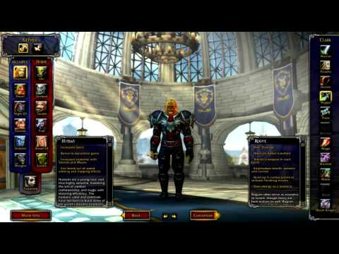 World of Warcraft Guides - Character Creation