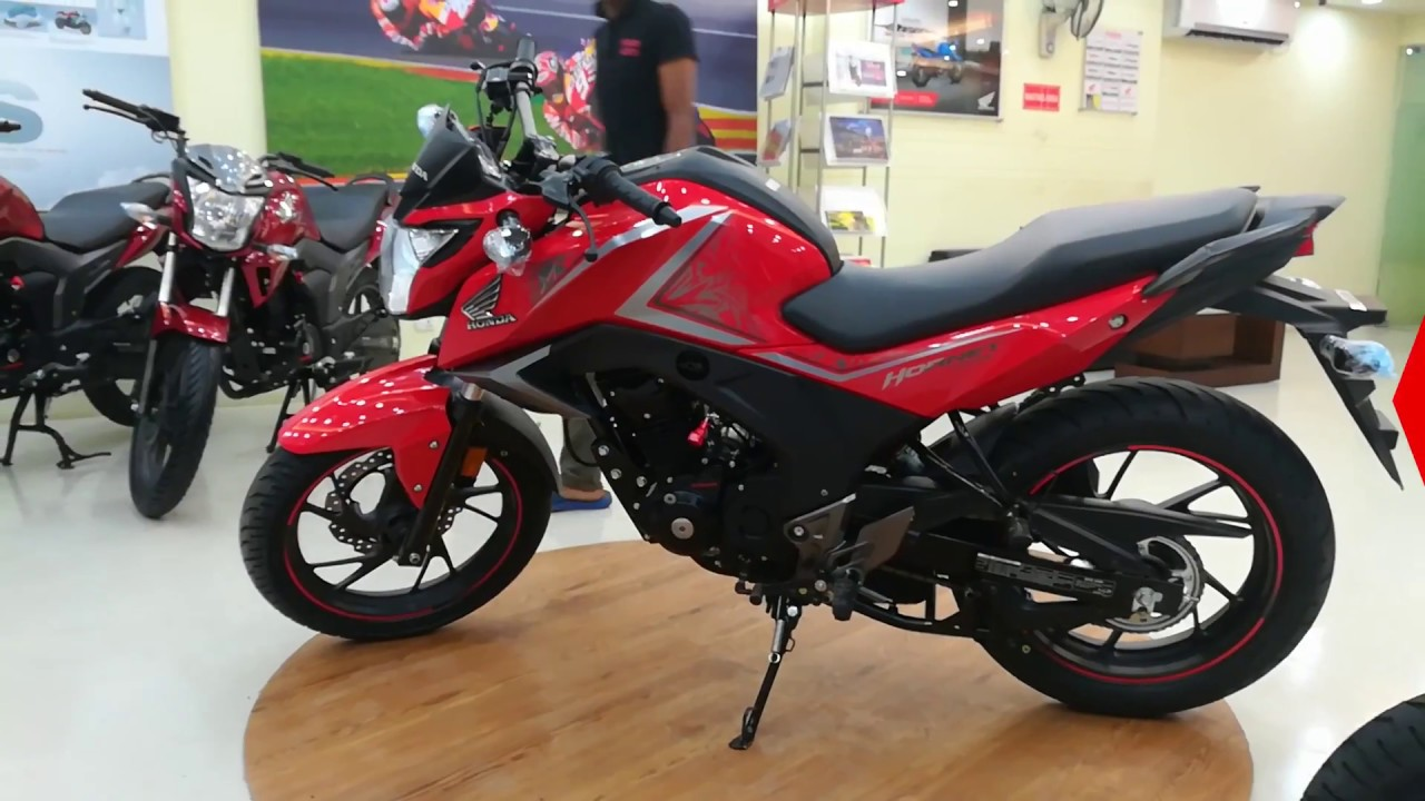 Honda Cb Hornet 160r Red Color Full Hd 1080