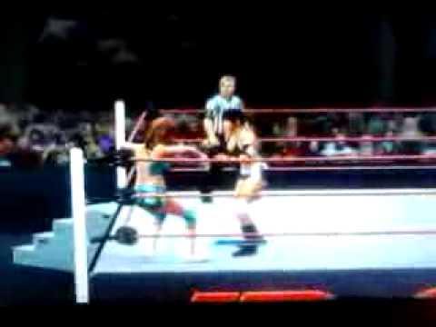 WWE'13 Universe Mode Eve vs. Ashley McCarthy