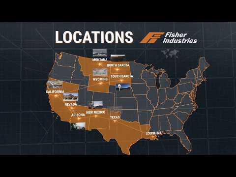 Fisher Projects and Locations