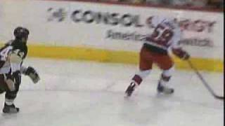 Jamie McBain First Career NHL goal with 0.9 seconds left in Overtime