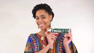 Neem essential toothpaste from Africa Imports