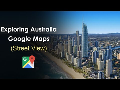Exploring Australia With Google Maps (Street View)