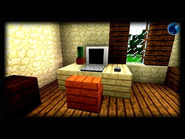Minecraft: Cách làm một chiếc máy tính để bàn