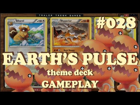 Pokemon TCG Online 028 - Earth's Pulse Theme Deck Versus Battle Gameplay