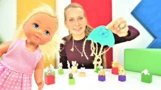 Барби и Штеффи в зоомагазине - Домашнее животное из цветной бумаги