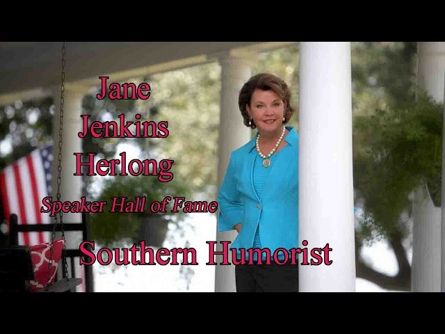 Really  Funny Speaker| Jane Jenkins Herlong , Speaker Hall of Fame