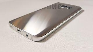 Видео обзор смартфона Samsung SM-G930F Galaxy S7 32 Гб серебристый