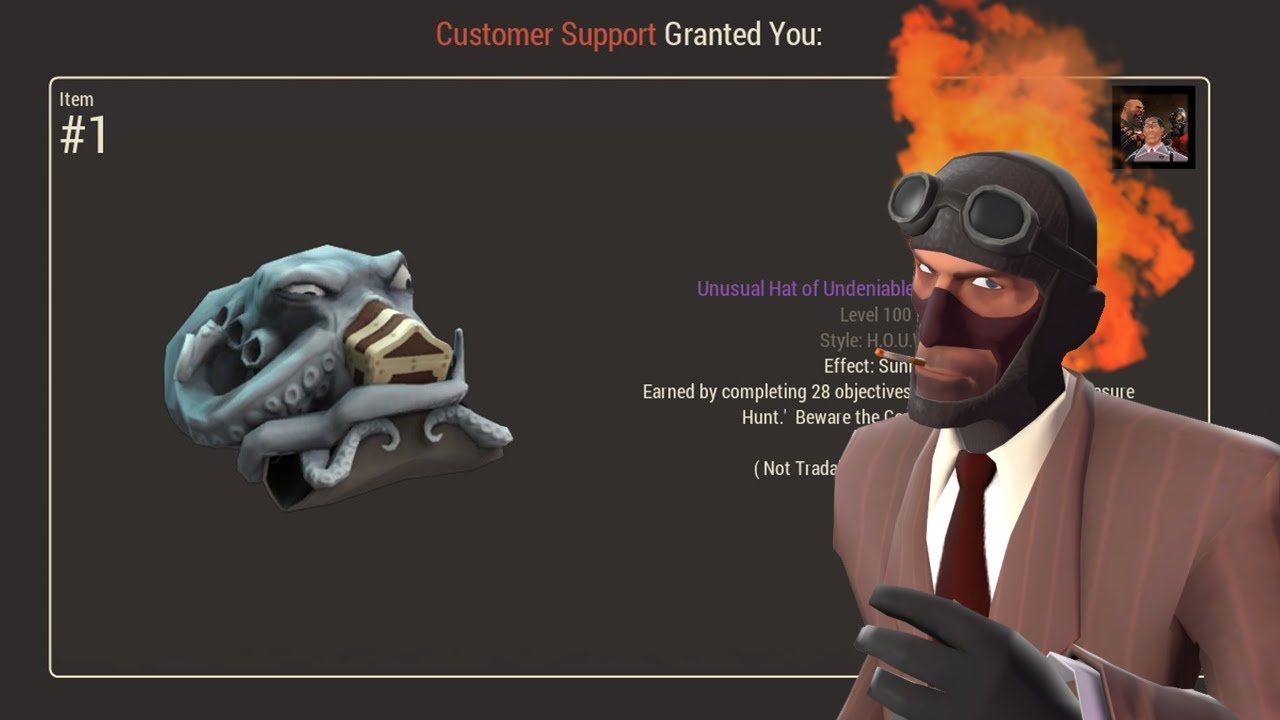 tf2 new all class misc hat rewards for bugs