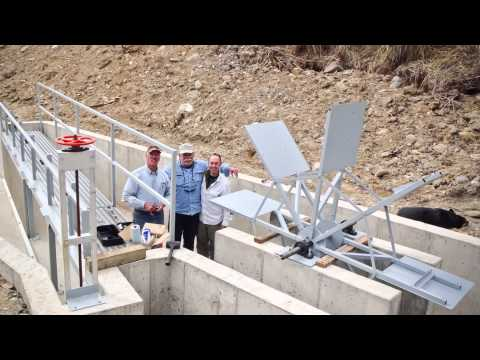 Wind River Holmes Ditch Project Completion Picture Video  | DawgsOnline org