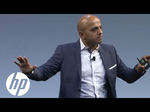 IoT & Wearables: Driving the Next Phase of Personal Computing | Sridhar Solur at HP Discover | HP
