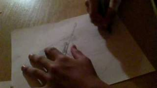 how to draw a sniper ghilie part 3