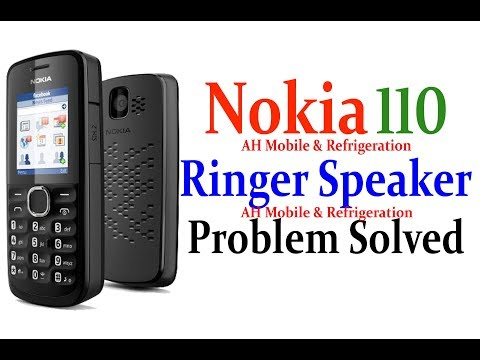 Nokia 110 Ringer Speaker Volume Problem Solution