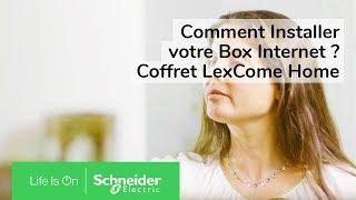 Tutoriel LexCom Home : comment installer votre box dans votre coffret de communication