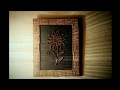 How to make cardboard photo frame at home
