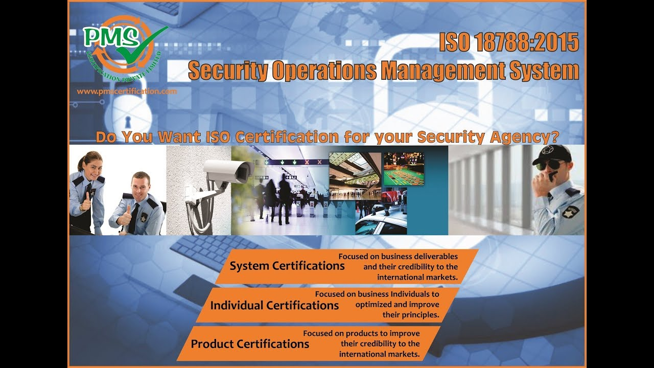 Iso 187882015 Security Operations Management System Youtube