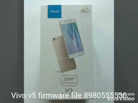 Vivo v5 1601 firmware stok rom tested 1000000