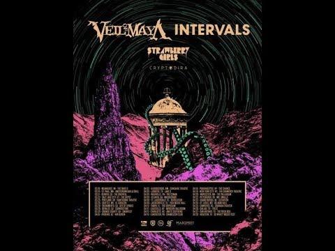 Veil Of Maya  tour with Intervals, Strawberry Girls and Cryptodira 2019 ..