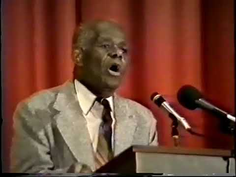 Mhenga John Henrik Clarke: Lecture - Law and Order