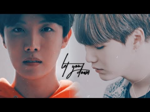 yoonseok ─ let you down