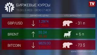 InstaForex tv news: Кто заработал на Форекс 07.02.2020 9:30