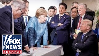 Media in meltdown mode over Trump's trip to G7 summit