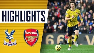 HIGHLIGHTS | Crystal Palace 1-1 Arsenal | Premier League