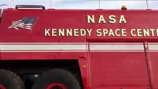 Kennedy Space Center Emergency NASA Fire Truck Oshkosh Striker  - Buy American