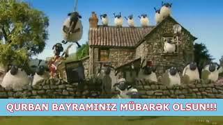 Qurban bayramina aid en maraqli video😝😝😜