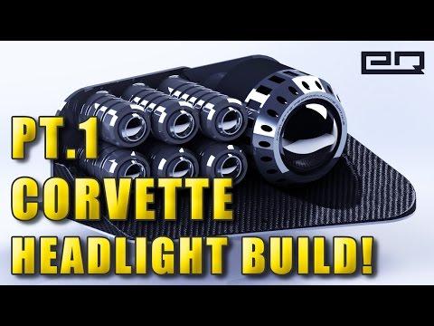 Custom Corvette Headlight Build: Part 1