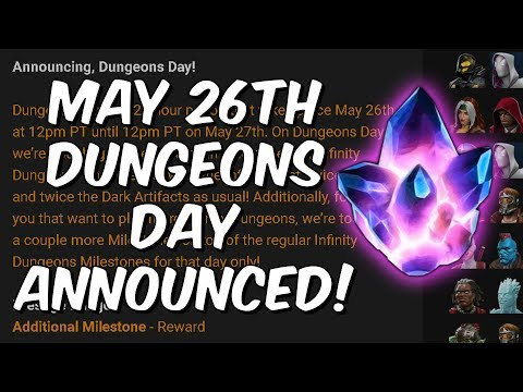 May 26th Dungeons Day Announced! - Bonus Rewards To Dungeons! - Marvel Contest Of Champions