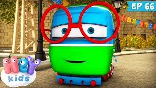 Trenulețele 🚂 Un act curajos - Desene animate educative (ep. 66) | HeyKids