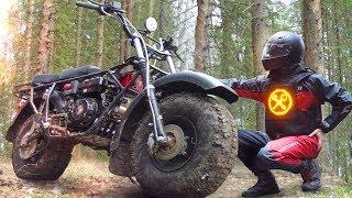 Новый внедорожный мотоцикл Скаут-4! Для кризисных времен!
