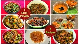 Peanut Chutney Powder   Instant Palli chutney Mix   Multipurpose Chutney powder   Putnala Podi
