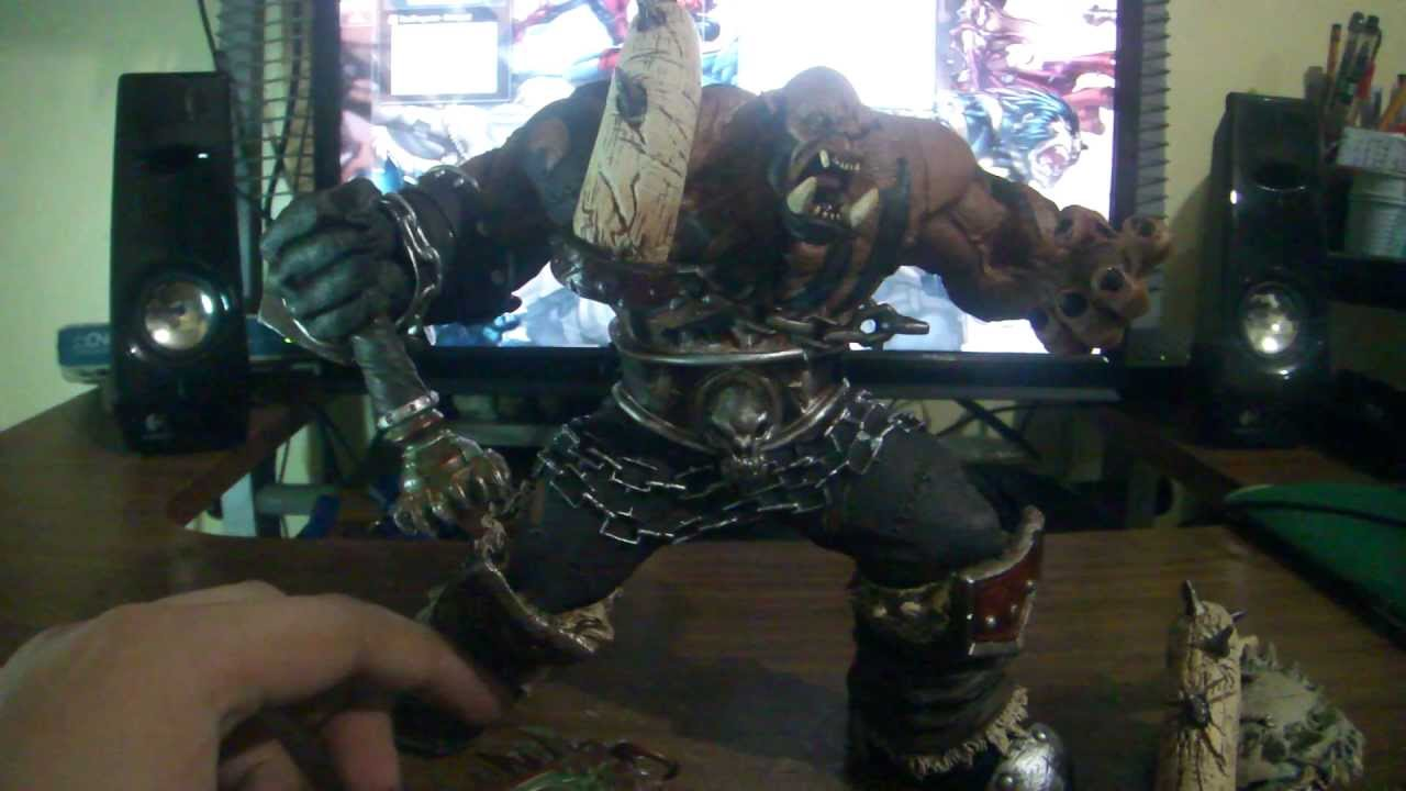 Spiderman Wallpaper Hd World Of Warcraft Action Figure Orc Warrior Garrosh