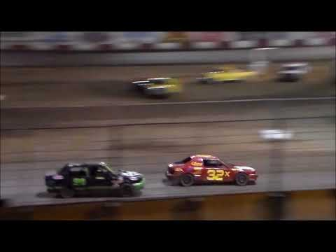 Mini Stock Main Event - Tulare Thunderbowl Raceway - 10.7.17