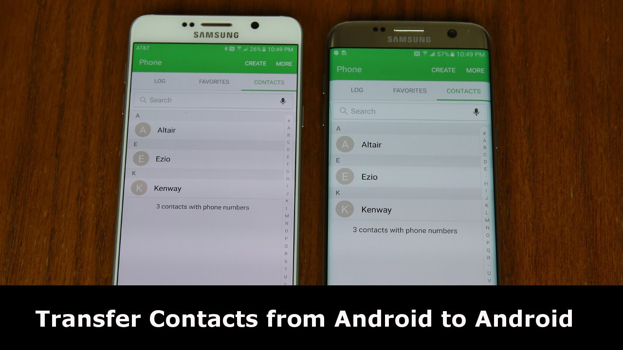 How to Transfer Contacts from Android to Android