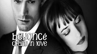 Beyoncé Crazy In Love (tradução) do filme 50 TONS DE CINZA (Fifty Shades of Grey) (Lyrics Video).