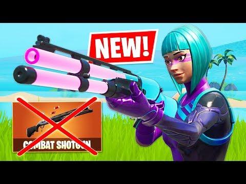 COMBAT SHOTGUN VAULTED!! (Fortnite) #1