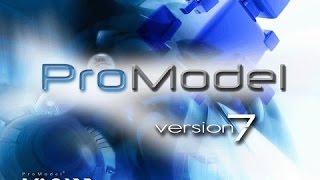 Promodel ¿cómo Usarlo? - Tutorial Básico  Simulación De Rotulado De Carros