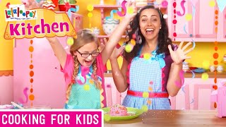 Super Silly Cake for a Super Silly Party!  Lalaloopsy Kitchen  Cooking Videos for Kids